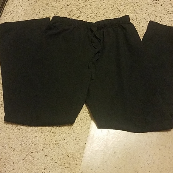absolute Pants - Absolute Black Scrubs Bottoms S